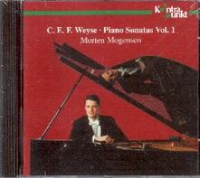 Sonate per pianoforte vol.1 - CD Audio di Christoph Ernst Friedrich Weyse,Morten Mogensen
