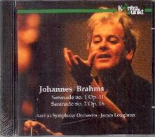 Serenades - CD Audio di Johannes Brahms