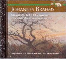 Sonate op.120 - Two Songs - CD Audio di Johannes Brahms