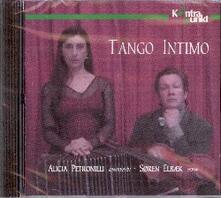 Tango intimo - CD Audio di Astor Piazzolla,Alicia Petronilli,Soren Elbaek