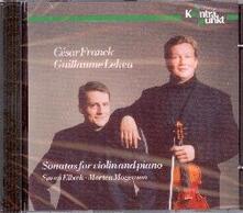 Sonate per violino e pianoforte - CD Audio di César Franck,Guillaume Lekeu,Morten Mogensen,Soren Elbaek