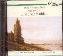 The Six Vienna Duets - CD Audio di Friedrich Kuhlau,Toke Lund Christiansen