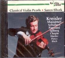 Classical Violin Pearls - CD Audio di Jules Massenet,Fritz Kreisler,Soren Elbaek