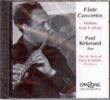 Concerti per flauto e orchestra - CD Audio di Jacques Ibert,Danish Radio Symphony Orchestra,Poul Birkelund