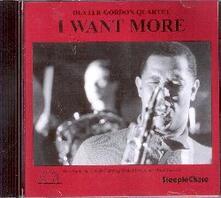 I Want More - CD Audio di Dexter Gordon