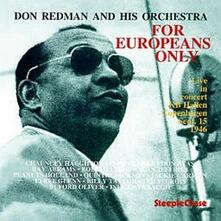 For Europeans Only - CD Audio di Don Redman