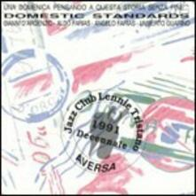 Domestic Standards - CD Audio di Gianni D'Argenzio