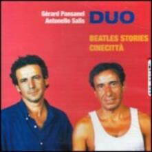 Beatles Stories & Cinecittá - CD Audio di Antonello Salis,Gerard Pansanel