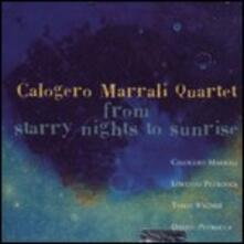 From Starry Nights to Sunrise - CD Audio di Calogero Marrali
