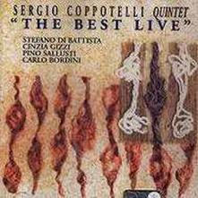 The Best Live - CD Audio di Sergio Coppotelli