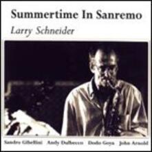 Summertime in Sanremo - CD Audio di Larry Schneider