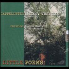 Little Poems - CD Audio di Steve Swallow,Giulio Visibelli,Arrigo Cappelletti