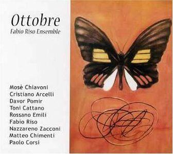 Foto Cover di Ottobre, CD di Fabio Riso (Ensemble), prodotto da Splasc(h)