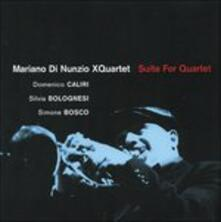 Suite for Quartet - CD Audio di Mariano Di Nunzio