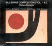 Bill Evans Composition 1-2 - CD Audio di Stefano Battaglia