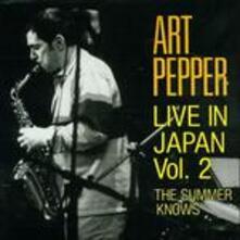 Live in Japan vol.2 - CD Audio di Art Pepper