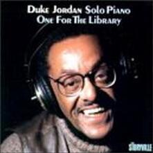 One for the Library - CD Audio di Duke Jordan