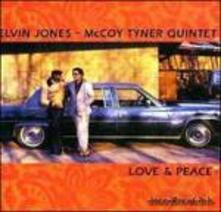 Love & Peace - CD Audio di McCoy Tyner,Elvin Jones