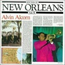 Sounds of New Oreleans vol.5 - CD Audio di Alvin Alcorn
