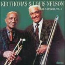 Live in Denmark vol.4 - CD Audio di Kid Thomas,Louis Nelson