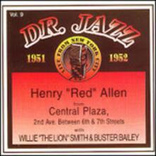 Doctor Jazz vol.9 - CD Audio di Henry Red Allen