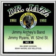 Dr.jazz vol.13 1951-1952 - CD Audio di Jimmy Archey