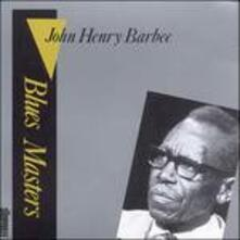 Blues Masters vol.3 - CD Audio di John Henry Barbee