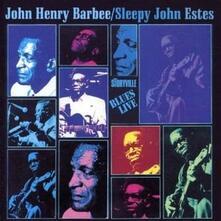 Blues Live! - CD Audio di Sleepy John Estes