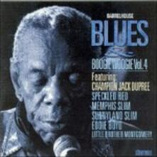 Barrelhouse, Blues & Boogie Woogie vol.4 - CD Audio