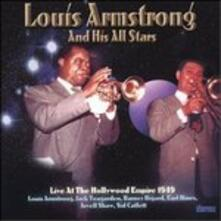 At the Hollywood Empire - CD Audio di Louis Armstrong