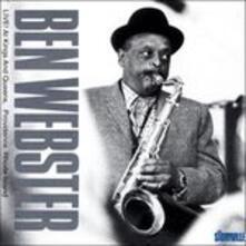 Live! - CD Audio di Ben Webster