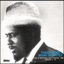 Live Monterey Festival 1963 - CD Audio di Thelonious Monk