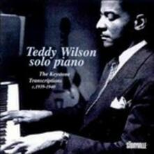 Solo Piano 1939-1940 - CD Audio di Teddy Wilson