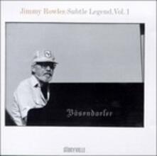 Subtle Legend vol.1 - CD Audio di Jimmy Rowles