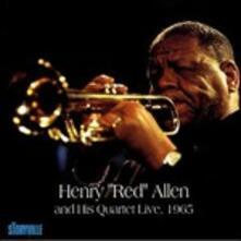 Live, 1965 - CD Audio di Henry Red Allen