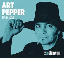 Live in Japan - CD Audio di Art Pepper