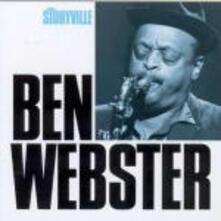 Masters of Jazz: Ben Webster - CD Audio di Ben Webster