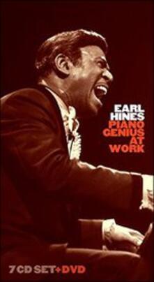 Piano Genius at Work (Box Set) - CD Audio + DVD di Earl Hines