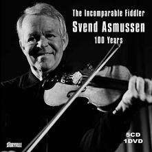 100 Years. The Incomparable Fiddler (Box Set) - CD Audio + DVD di Svend Asmussen