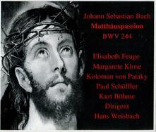 La Passione Secondo Matteo - CD Audio di Johann Sebastian Bach