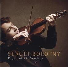 24 Capricci per Violino - CD Audio di Niccolò Paganini