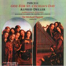 Ode For St.Cecilia'S Day - CD Audio di Henry Purcell