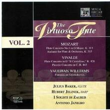 The Virtuoso Flute vol.2 - CD Audio di Julius Baker