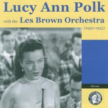 With the Les Brown - CD Audio di Lucy Ann Polk