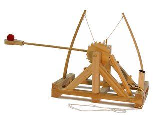 Giocattolo Leonardo da Vinci. Catapulta Pathfinder