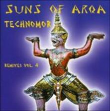 Technomor-Remixes 4 - CD Audio di Suns of Arqa