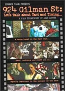 924 Gilman St. Let's Talk About Tact And Timing... di Jack Curran - DVD