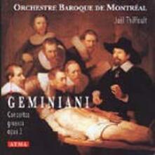 Concerti grossi op.3 - CD Audio di Francesco Geminiani