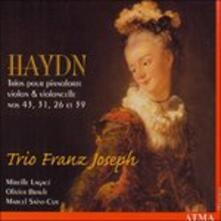 Trios - CD Audio di Franz Joseph Haydn