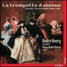 La tromba barocca italiana - CD Audio di André Henry